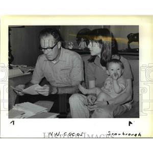 1989 Press Photo Dr. Glenn Miller, husband of missing Marion Miller - ora62154