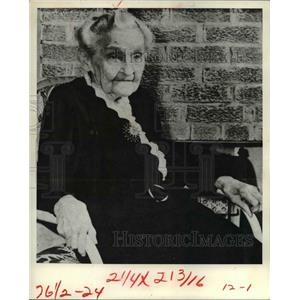 1970 Press Photo Ida Eisenhower - cvb00235