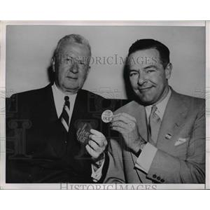 1952 Press Photo Senator Henry Cabot Lodge Jr * Senator James H Duff - nee86363