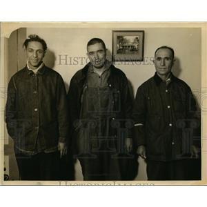 Undated Press Photo Charles Stewart, Alfred Johnson and James Brinda - nee86610