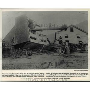 1989 Press Photo Pennsylvania Johnstwon, Flood of 1889 - cvb01271