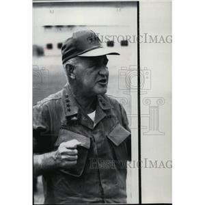 1968 Press Photo Gen Creighton Abrams - spa00844
