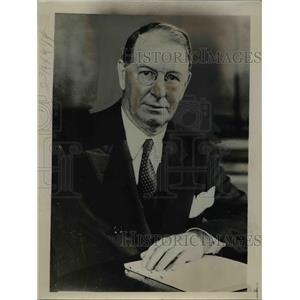 1936 Press Photo Col. Frank Knox, Secretary of Navy. - nee83628