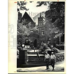 1981 Press Photo Five Oaks Mansion in Massillon Ohio - cvb04077