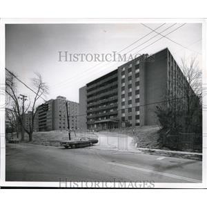 1971 Press Photo Apartments - Forest terrace. Senior Citizen Suites - cva73540