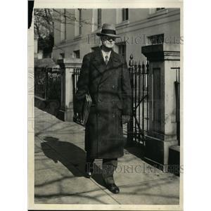 1931 Press Photo MC Latta executive clerk of the White House - nee87723