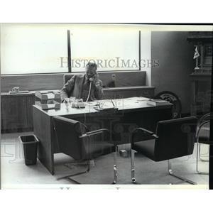 1982 Press Photo Mayor James Chase - spa02928