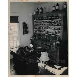 1972 Press Photo Dr. Patton's office in Canfield - cvb00683