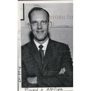 1959 Press Photo Richard N Appling - spa00767