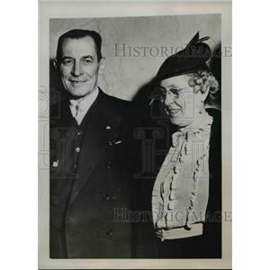 1937 Press Photo Jamed D Kennedy & Stella Dysart guilty of oil lease irregulary