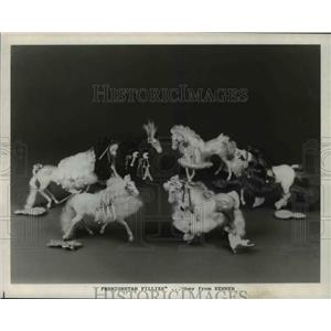 1988 Press Photo Horse Toys - cva79827