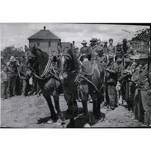 1943 Press Photo Farm scenes - spa00055