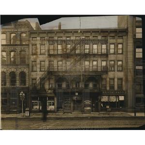 1910 Press Photo The Saunders Hotel - cva87969