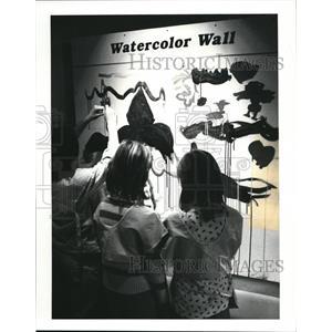 1987 Press Photo New permanent exhibit, Cleveland Children's Museum - cva92950