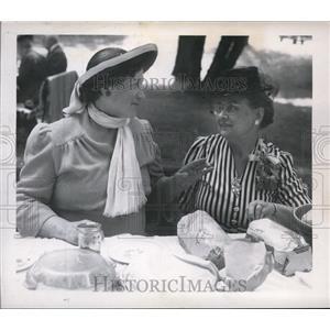 Press Photo Spokane County Pioneer society annual picnic at Manito Park