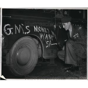 1946 Press Photo Private George Kappa, marine - cva99411