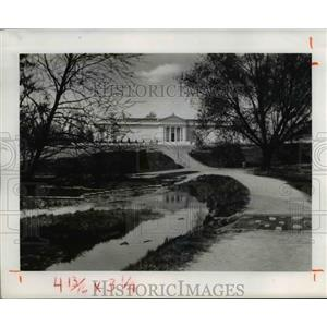 1958 Press Photo The 1916 Exteriors of Cleveland Museum of Arts - cva89549