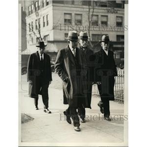 1931 Press Photo Men that are Prosecuting Bishop James Cannon Jr. at Mt Vernon