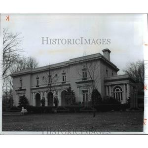 1973 Press Photo Tremaine, Gallagher residence in 3001 Fairmount Boulevard, Ohio
