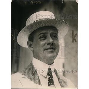 1920 Press Photo James Sloan Former Secret Service - nex97151