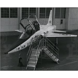 1970 Press Photo T38 Talon, world's first supersonic jet trainer at Northtown