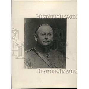 1930 Press Photo General JC Castner of US Army