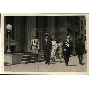 1921 Press Photo President Harding