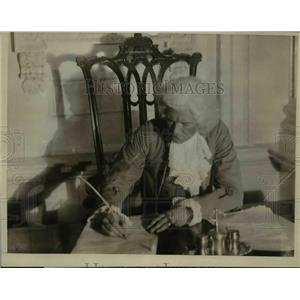 1925 Press Photo Re-Enact the Signing Of The Declaration Of Independence