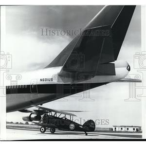 1973 Press Photo Airplane Historical - spa22255