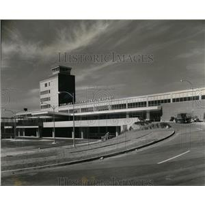1958 Press Photo New $4,400,000 Portland International Airport building opened.