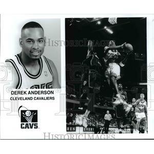 Press Photo Derek Anderson Cleveland Cavaliers - cvb67224