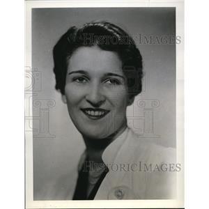 1939 Press Photo Lucille Perkins Speediest of US National Typing Team