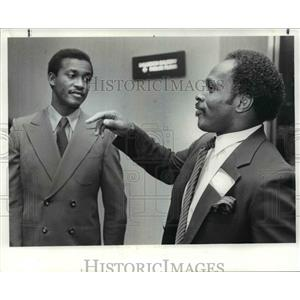 1982 Press Photo Paul Warfield and Archie Griffin - cvb67133