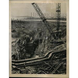 1949 Press Photo Kola Peninsula Soviet Engineers Harness Streams Power