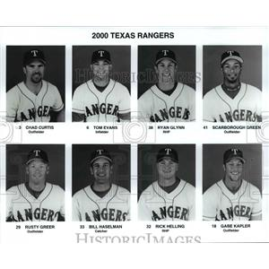 Press Photo 2000 Texas Rangers - cvb67235