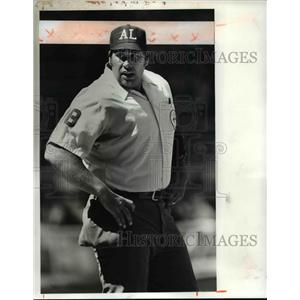 Press Photo Greg Kosc, former umpire in Major League Baseball - cvb67621