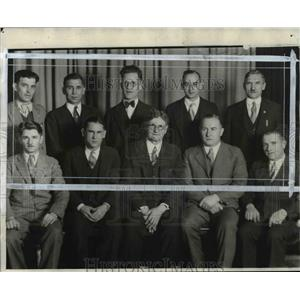 Press Photo Gymnastic Instructors who will lead their groups. - cvb67220