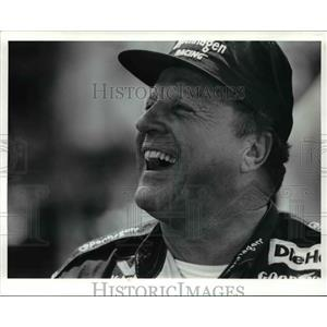 1991 Press Photo AJ Foyt before the beginning the Cleveland Grand Prix