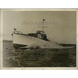 1929 Press Photo Otto Kahn's boat Oheka II built by Maybach Corp
