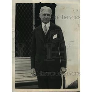 1923 Press Photo Mr. Bernard Baruch, noted financier  - mja15996