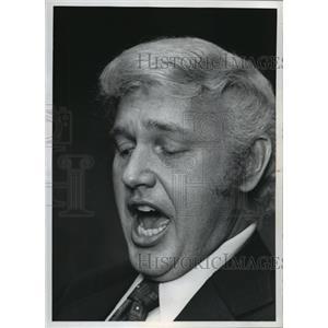 1971 Press Photo Lester Wagemaker, singer - mja19311
