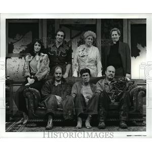 Press Photo Marla Fries, Jeffrey Guyton, Evie McElroy, Wayne S. Turney