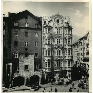 1988 Press Photo View of Innsbruck City, Autria - mja03405