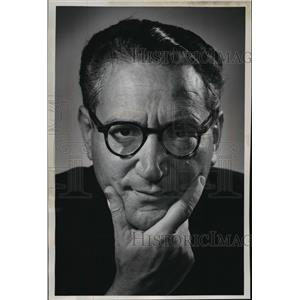1961 Press Photo Conductor Alfredo Antonini  - mja19239