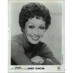 1979 Press Photo Sandy Duncan, Actress and Singer - mjp00263