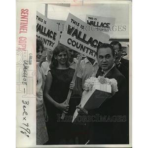 1967 Press Photo Former Alabama Gov. Goerge Wallace - mja19673