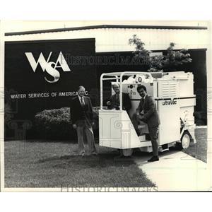 1987 Press Photo WSA executives  - mja18864