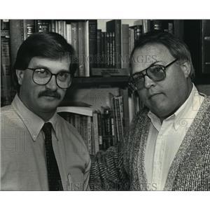 1990 Press Photo Rev Timothy Berkley & Rev Roy McKain,Christian Life Fellowship