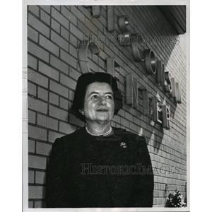1964 Press Photo Mrs. Mary Dublin Keyserling - mja06922