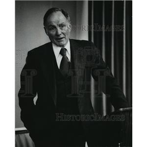 1979 Press Photo Fred L Brengel, president Johnson Controls, Inc - mja05156